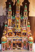 Natal decoração, cracóvia, polónia — Foto Stock