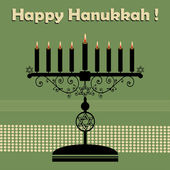 Happy Hanukkah — Stock Vector