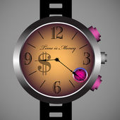 Time is money — Stock Vector