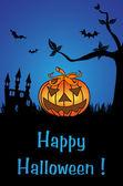 с праздником хэллоуин — Cтоковый вектор