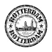 Rotterdam grunge rubber stamp — Stock Vector