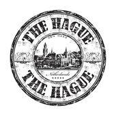 Projekt Haga pieczątka — Wektor stockowy