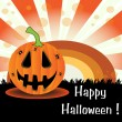 Happy Halloween — Vector de stock #22615789