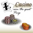 Casino theme — Stock Vector