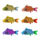 Balık seti — Stok Vektör