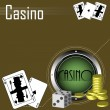 Casino theme — Stock Vector #23303852