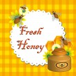 Fresh honey - Stock Vector