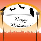 Vrolijke halloween — Stockvector
