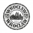 Wroclaw rubber stamp — Stock Vector