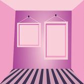 Rámečky na mé zdi — Stock vektor