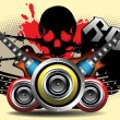 Vector de stock : Rock music