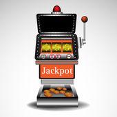 Casino slot machine — Stock Vector