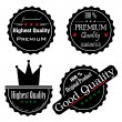 Royalty-Free Stock Vector Image: High quality labels