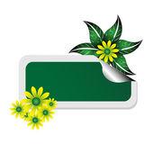 Etiqueta de negocios de primavera — Vector de stock