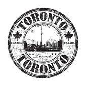 Toronto grunge rubber stamp — Stock Vector