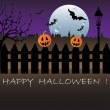 Vettoriale Stock : Happy Halloween