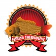 Fishing tournament - Stock Vector