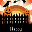 Stock vektor: Happy Halloween