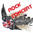 Rock concert — Stock Vector
