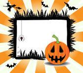 Halloween frame — Cтоковый вектор