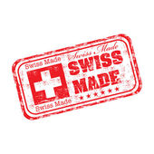 Swiss made — Stock Vector