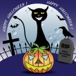 Happy Halloween — Vector de stock #24963235