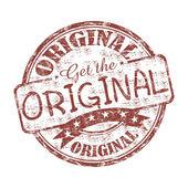 Get the original stamp — Stock Vector