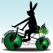 Stop pollution — Vector de stock