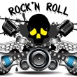 Rock'n Roll — Stock Vector