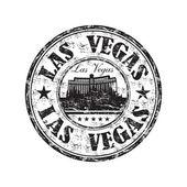 Las Vegas grunge rubber stamp — Stock Vector