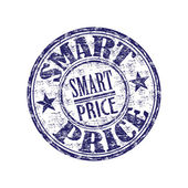 Smart price rubber stamp — Stock Vector