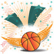 Постер, плакат: Basketball wings