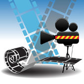 Cinema design — Stock Vector