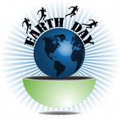 Earth Day — Stock Vector