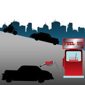Fuel up — Stock Vector