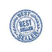 Timbro di gomma migliore venditore — Vettoriale Stock
