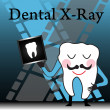 Dental X ray — Stock Vector