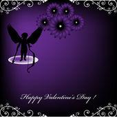 Valentine's Day frame — Stock Vector
