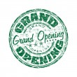 Grand Opening grunge rubber stamp — Stock Vector