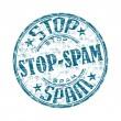 Stop spam — Stock Vector