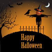 Felice halloween — Vettoriale Stock