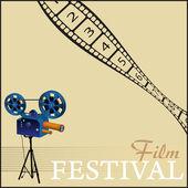 Film festival — Stock Vector