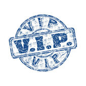 VIP rubber stamp — Stock Vector
