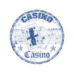 Casino grunge rubber stamp — Stock Vector #29482609