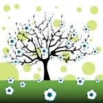 Football tree — Stock Vector #29482691