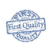 Première qualité grunge rubber stamp — Vecteur