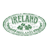 Ireland grunge rubber stamp — Stock Vector