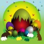 Easter eggs — Stock Vector #30322697