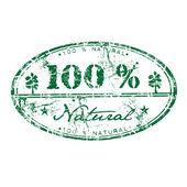 Carimbo de borracha natural — Vetorial Stock