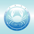 Cancer symbol — Stock Vector #30476739